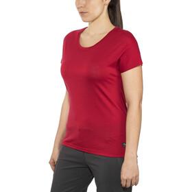 Bergans Oslo Wool T-paita Naiset, red